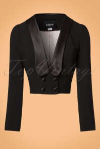 Collectif Clothing Jolie Jacket in Black 21712 20170609 0005w