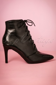 Plain Studios Black Plain Booties 430 10 21519 27092017 012W