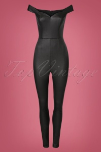 Collectif Clothing Connie Jumpsuit in Black 21829 20170615 0002w