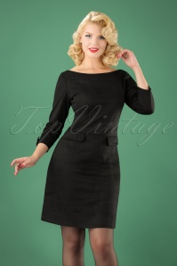 Le Pep Pencil Dress in Black 100 21 21561 20170915 0002 (2)W