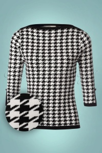 Banned Izzy Houndstooth Top 113 14 22392 20170828 0001W1