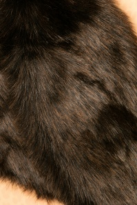 Amici Dark Brown Fur Scarf 240 10 22340 07062017 006c