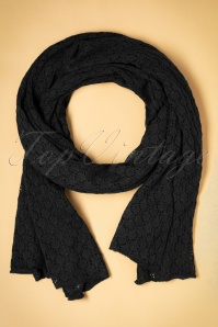 King Louie Scarf Tatum black 240 10 21374 bW