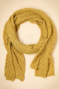 King Louie Scarf Tatum Yellow 240 80 21378 aW