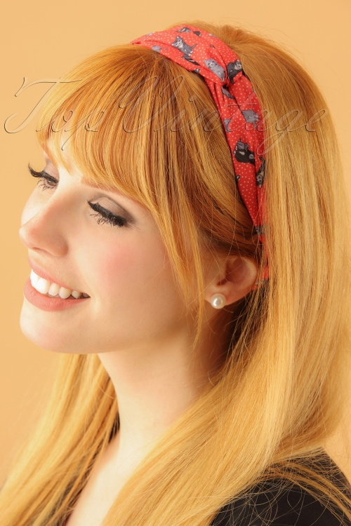 Lindy Bop Headband 208 27 23338model02W