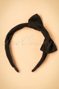 Lindy Bop Black Headband 208 10 23336 04102017 001W