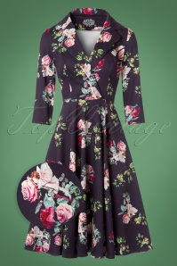 Hearts & Roses Floral Swing Dress 102 69 22734 20171010 0010wv