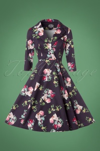 Hearts & Roses Floral Swing Dress 102 69 22734 20171010 0004w