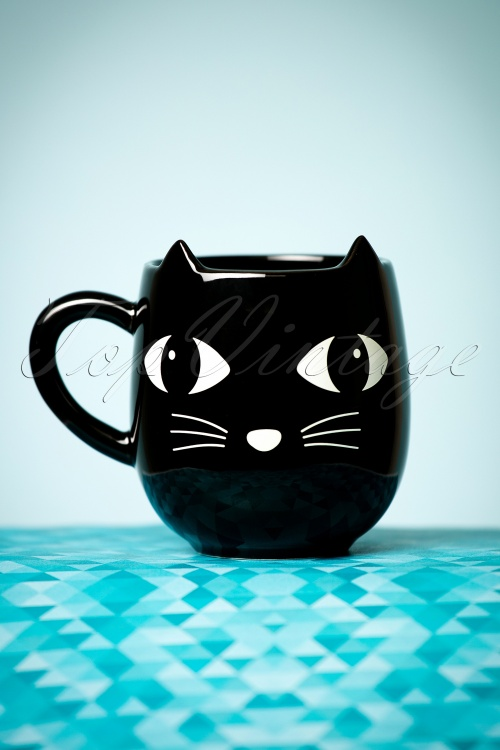 Lucky the Black Cat Mug 290 10 23330 10102017 018W