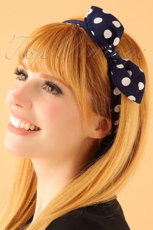 Vixen Polka dot Headband 208 31 23375modelW