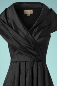 Lindy Bop Amber Black Swing Dress 102 10 22895 20170831 0003c