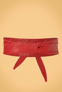 Collectif Obi Belt in Red 230 20 21628 20170613 0003W
