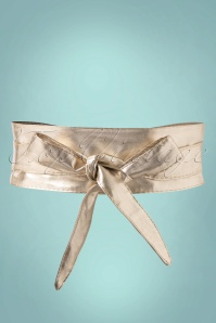50s Obi Wrap Belt in Gold