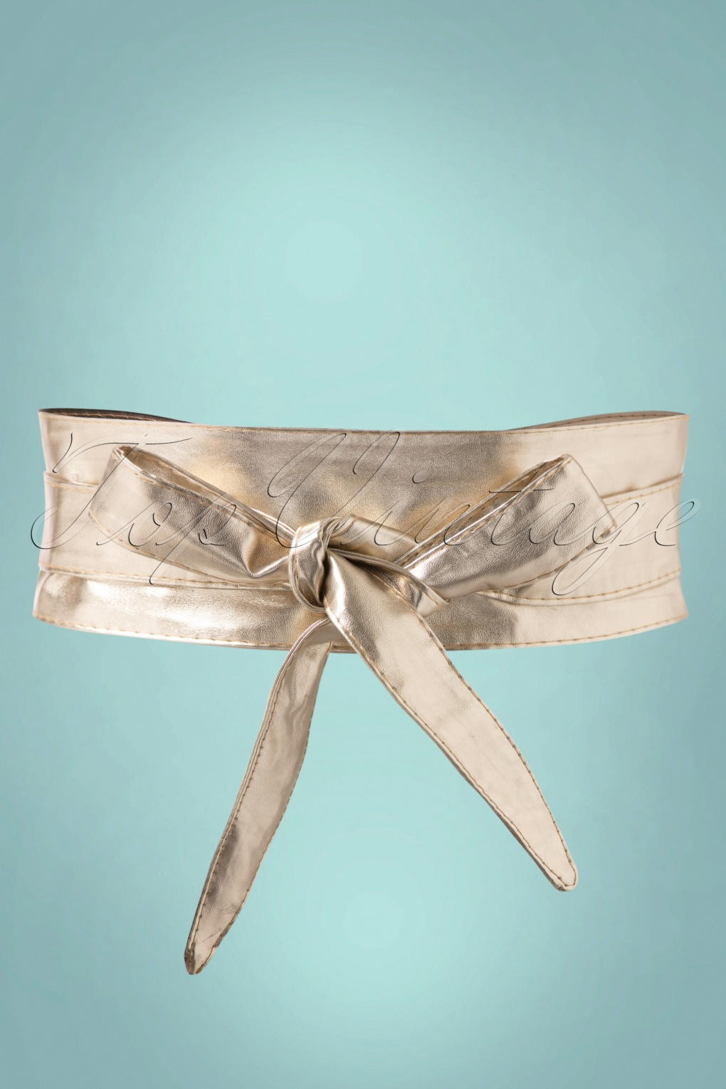 Vintage Wide Belts, Cinch Belts 40s, 50s Belts 50s Obi Wrap Belt in Gold £13.32 AT vintagedancer.com
