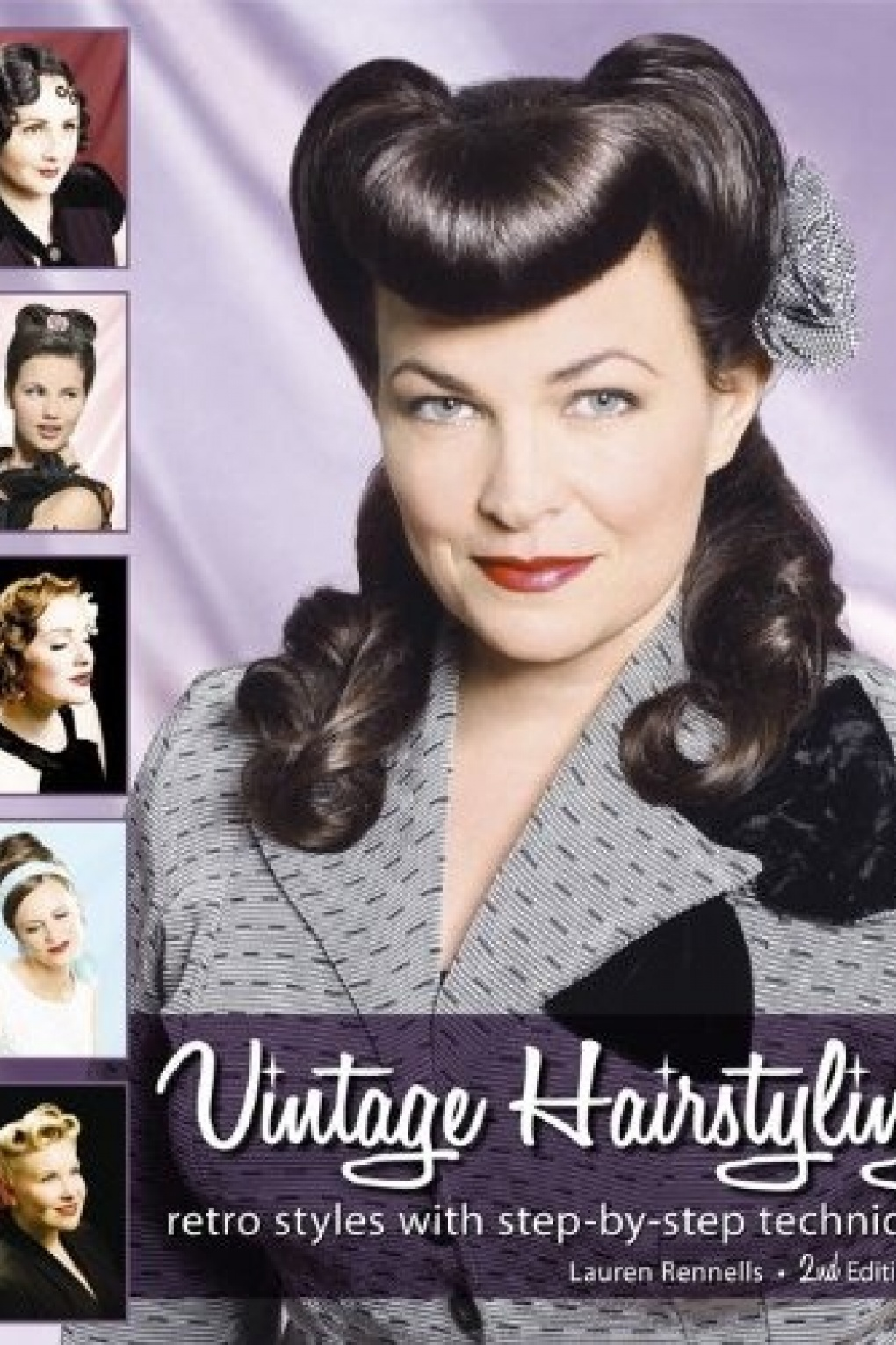 1940s Vintage Hair Accessories – 4 Authentic Styles Vintage Hairstyling Retro Styles With Step by Step Techniques 2nd edition £29.68 AT vintagedancer.com