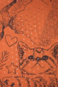 Darling Divine Scarf Cute Cat 240 21 23440 10102017 002