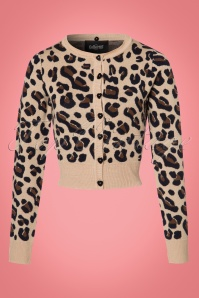 Collectif Clothing Pietra Leopard Print Cardigan 21768 20170607 0016W