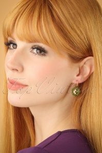 Glamfemme Green earrings 333 40 22997W