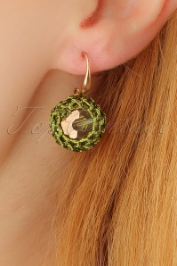 Glamfemme Green earrings 333 40 22997aW