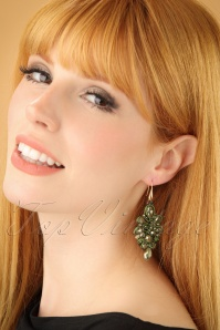 Glamfemme Green earrings 333 40 22985W
