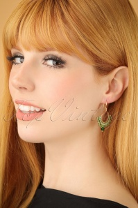 Glamfemme Green earrings 333 40 22991W