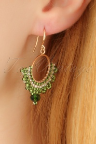 Glamfemme Green earrings 333 40 22991aW
