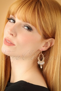Glamfemme Champagne Earrings 333 51 22990W