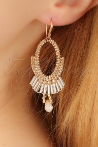 Glamfemme Champagne Earrings 333 51 22990aW