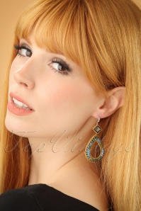 Glamfemme Blue Earrings 333 30 23009W