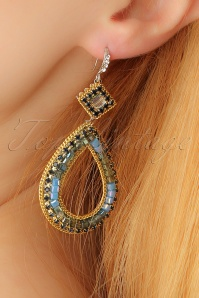 Glamfemme Blue Earrings 333 30 23009aW