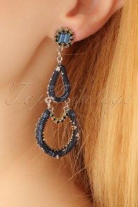 Glamfemme Blue Rhodium earrings 333 30 22989aW