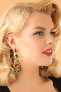 Vixen Peacock Earrings 333 40 23046aW