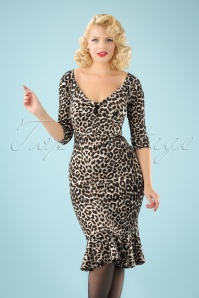 Vintage Chic Marcella Fabric Leopard Print 100 58 22503 20170913 0003W