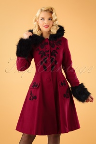 Bunny Sherwood Black Red Coat 152 20 22631 20170912 2W