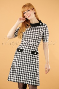 Lindy Bop Monica Houndstooth Dress 106 14 22909 20170831 0005