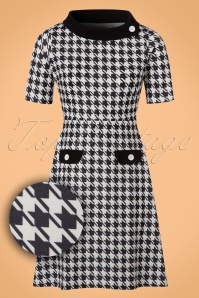 Lindy Bop Monica Houndstooth Dress 106 14 22909 20170831 0002W1