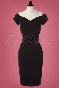 Bellissima  Strapless Black Pencil Dress 100 10 23749 20171017 0001pop