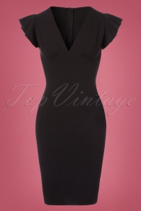 Bellissima  Retro Black Pencil Dress 100 10 23751 20171017 0002W