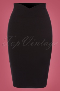 Bellissima  Pencil Skirt Black 100 10 23752 20171017 0001W