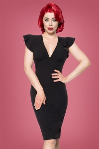 Bellissima  Retro Black Pencil Dress 100 10 23751 20171017 0010