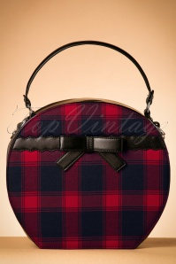 Vixen Ivy Hatbag Red Navy 212 27 22160 26062017 001W