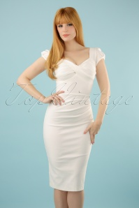 50s Billion Dollar Dress in Ivory