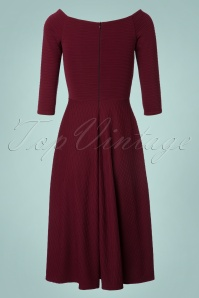 Vintage Chic Ribbed Textured Dress 102 20 22584 20171019 0009W