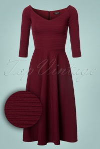 Vintage Chic Ribbed Textured Dress 102 20 22584 20171019 0002W1