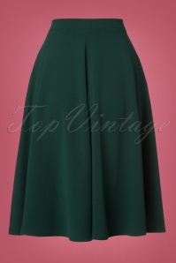 Vintage Chic 50s Sheila Green Skirt 122 40 23705 20171019 0007W