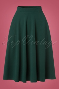 Vintage Chic 50s Sheila Green Skirt 122 40 23705 20171019 0002W