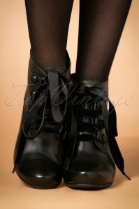 Miz Mooz Kathy Black Bootie 430 10 23039 model 18102017 008W