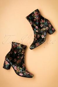 DNA Footwear Dita floral Bootie 441 10 23746 12102017 008W