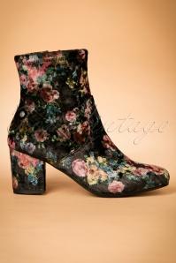 DNA Footwear Dita floral Bootie 441 10 23746 12102017 003W