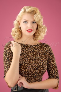 50s Rocky Top in Leopard